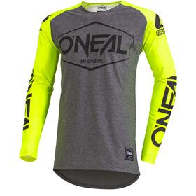 ONeal Mayhem Lite Koszulka kolarska, długi rękaw Mężczyźni Hexx żółty/szary